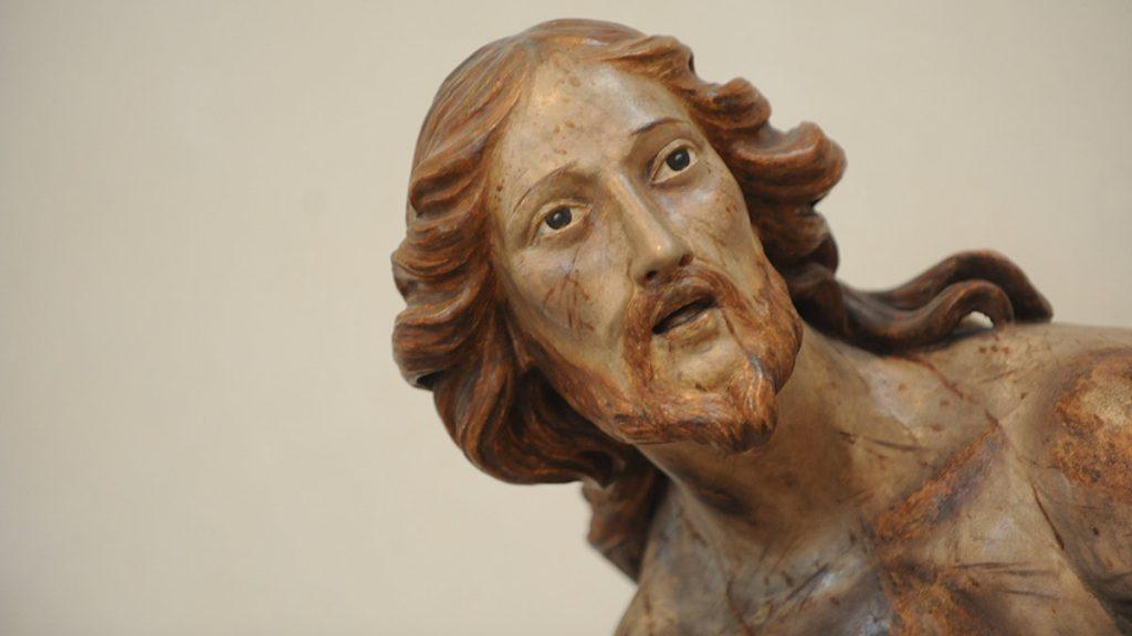 Christus an der Geißelsäule im nördlichen Seitenschiff