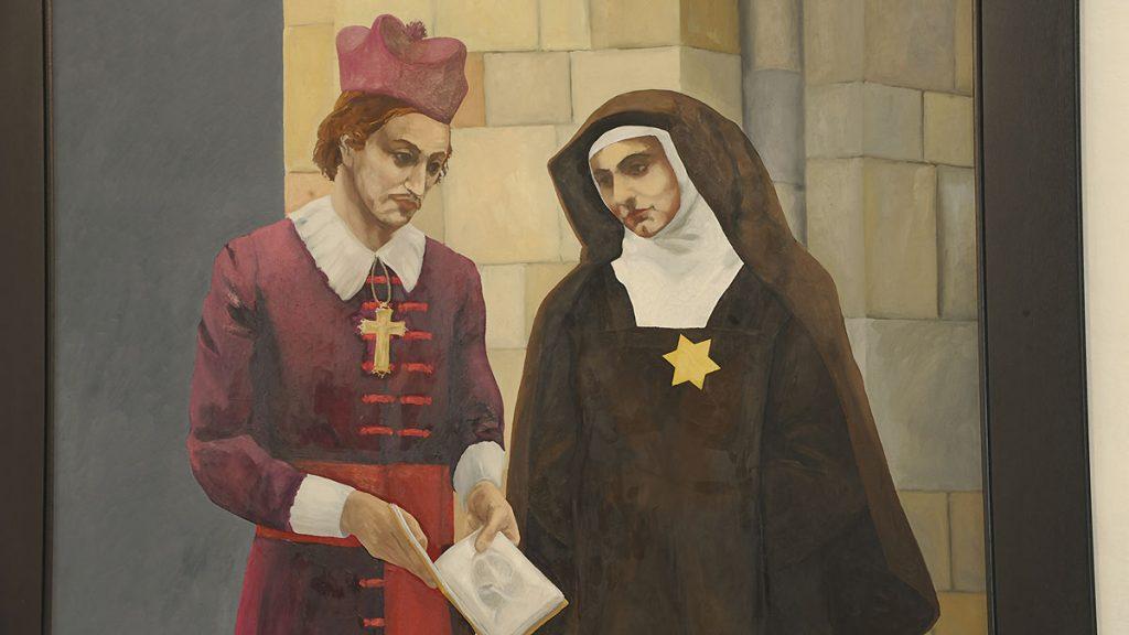 Bildnis von Nils Stensen und Edith Stein
